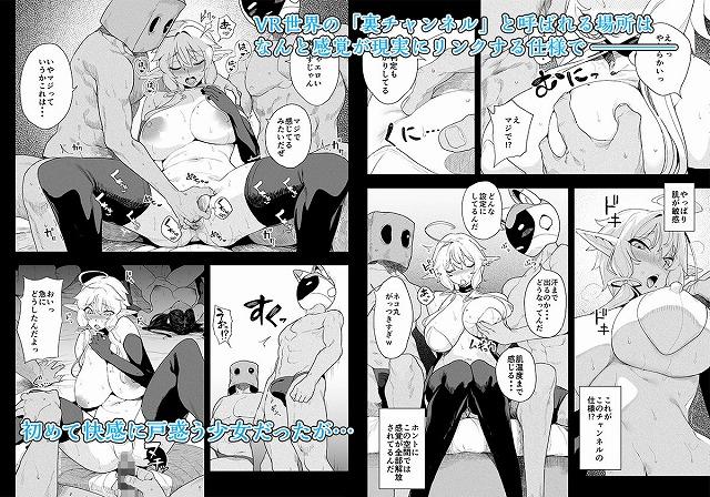 電脳姦姫 仮想空間で堕ちる少女1